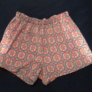 Fabric fashion shorts